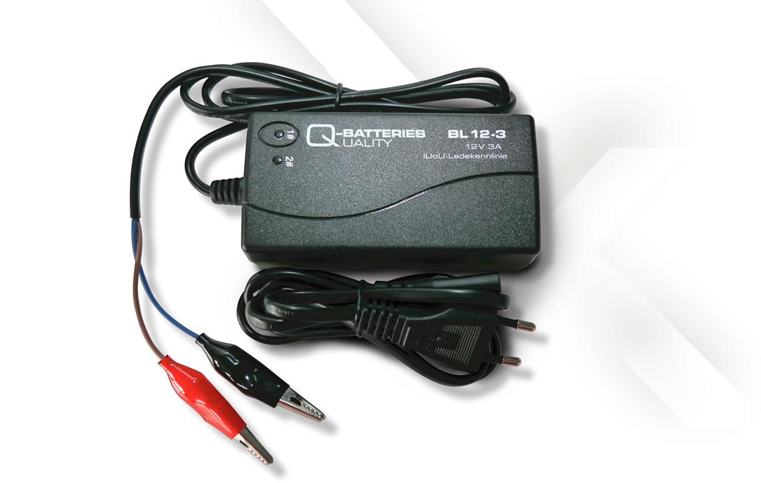 q batteries bl 12 3 ladeger t f r batterien bis 35 ah. Black Bedroom Furniture Sets. Home Design Ideas